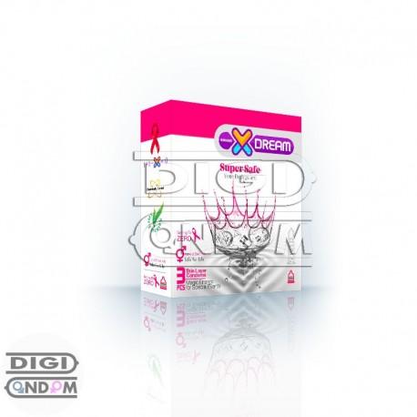 خرید-کاندوم-ایکس-دریم-3-تایی-اسپرم-کش-ایمن-XDREAM-SuperSafe-از-فروشگاه-دیجی-کاندوم