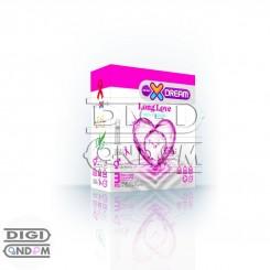 کاندوم ایکس دریم 3 تایی لذت طولانی XDREAM Long Love