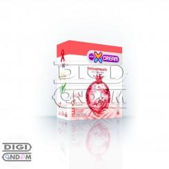 کاندوم ایکس دریم 3 تایی تنگ کننده XDREAM Pomegranate
