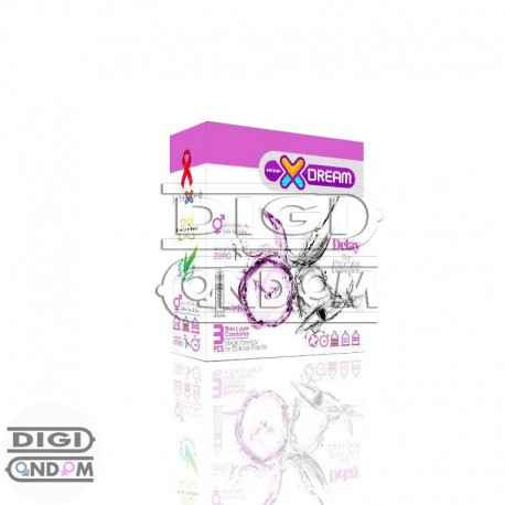 خرید کاندوم ایکس دریم 3 تایی تاخیری دیلیXDREAM Delay از فروشگاه دیجی کاندوم