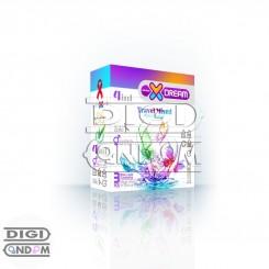کاندوم ایکس دریم 3 تایی متنوع مسافرتی XDREAM Travel Mixed