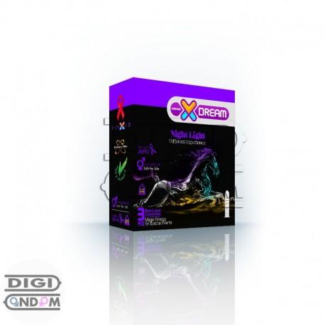 خرید-کاندوم-ایکس-دریم-3-تایی-شبرنگ-XDREAM-Night-Light-از-فروشگاه-دیجی-کاندوم