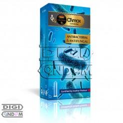 کاندوم کلایمکس 12 تایی ضد قارچ و ضد عفونت CLIMAX AntiBacterial & AntiFungal