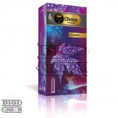 کاندوم کلایمکس 12 تایی کلاسیک ساده روان و بدون اسانس CLIMAX Classic
