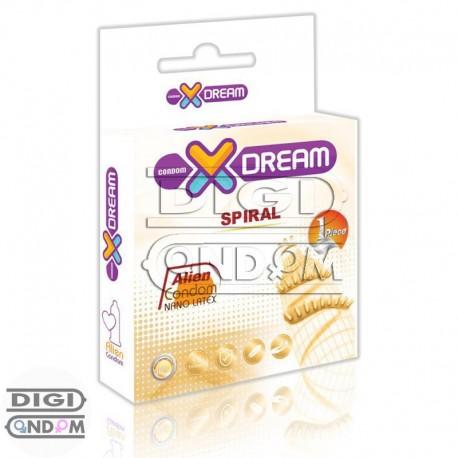 خرید-کاندوم-فضایی-چرخشی-از-فروشگاه-دیجی-کاندومAlien-Spiral-Spike-Condom