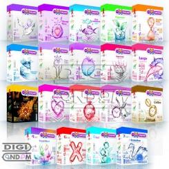 پکیج کامل کاندوم های ایکس دریم 3 تایی XDREAM 3pcs Package