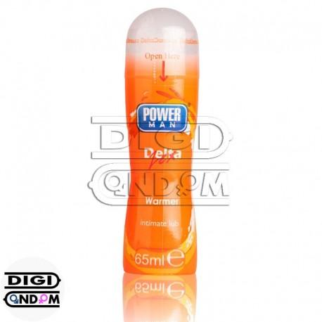 ژل-گرم-کننده-وارمر-پاورمن-دلتازکس-PowerMan-Warmer-Intimate-Gel-خرید از دیجی کاندوم