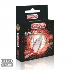 کاندوم فضایی شادو ایلین شمشیری SHADOW Ailen Sword Condom