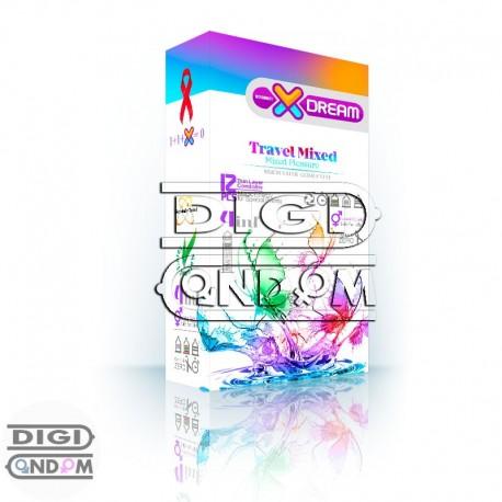 خرید-کاندوم-ایکس-دریم-12-تایی-متنوع-مسافرتی-XDREAM-Travel-Mixed-از-فروشگاه-دیجی-کاندوم
