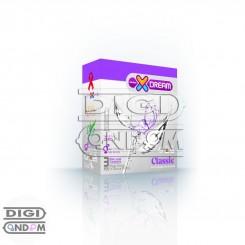 کاندوم ایکس دریم 3 تایی کلاسیک XDREAM Classic