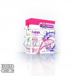 کاندوم ایکس دریم 3 تایی بزرگ کننده XDREAM Largo