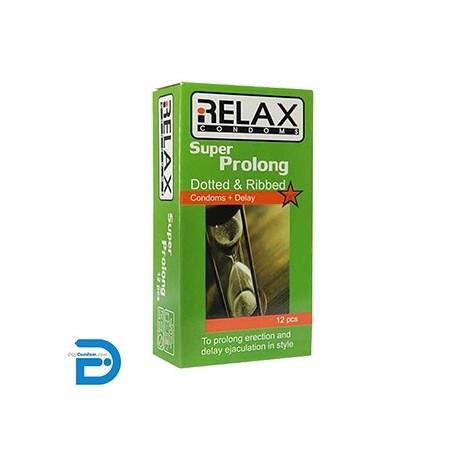 خرید کاندوم ریلکس 12 تایی سوپر پرولانگ پلاس RElAX - SUPER PROLONG Plus دیجی کاندوم