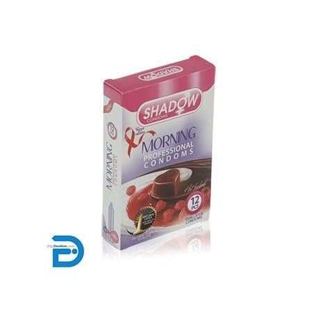 خرید کاندوم شادو 12 تایی خاردار صبحگاهی مورنینگ SHADOW Morning از دیجی کاندوم