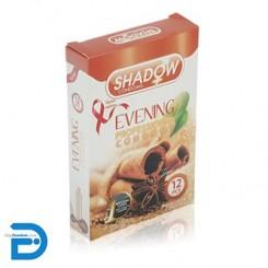 کاندوم شادو 12 تایی خاردار و شیاردار عصرگاهی ایونینگ SHADOW Evning