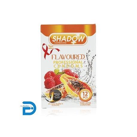 خرید کاندوم شادو 12 تایی میوه ای SHADOW Flavoured از دیجی کاندوم