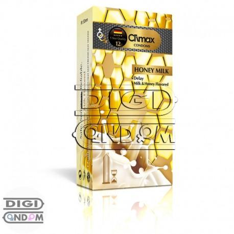 کاندوم-کلایمکس-تاخیری-شیر-و-عسل-12-تایی-Climax-Honey-Milk-دیجی-کاندوم