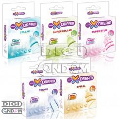 پکیج کامل 5 عددی کاندوم های فضایی ایکس دریم ایلین XDREAM Ailen Condom