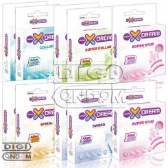 پکیج 10 عددی کاندوم های فضایی ایکس دریم ایلین XDREAM Ailen Condom