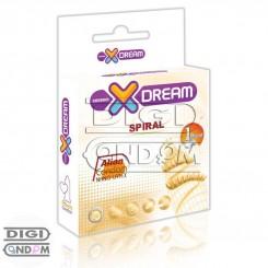 کاندوم فضایی ایکس دریم ایلین چرخشی XDREAM Ailen Spiral Condom