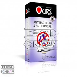 کاندوم اورز 12 تایی کلاسیک ضد باکتری OURS ANTIBACTERIAL