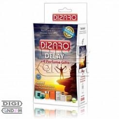 کاندوم دیزارو 12 تایی خاردار تاخیری ادکلن دار DIZARO Delay Dotted+ 4 Perfume Gifts