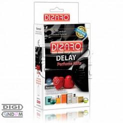 کاندوم دیزارو 12 تایی تاخیری ادکلن دار DIZARO Delay+ Perfume Gifts