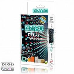 کاندوم دیزارو 12 تایی خاردار و شیاردار و تاخیری ادکلن دار DIZARO Delay Dotted Ribbed+ Perfume Gifts