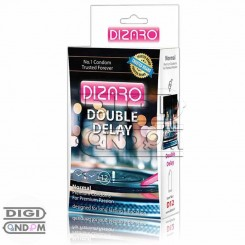 کاندوم دیزارو 12 تایی تاخیری دو برابر نرمال DIZARO Double Delay Normal