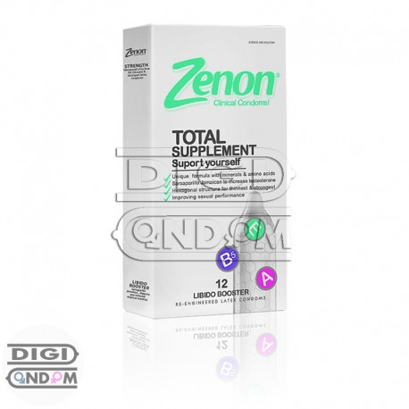 خرید-کاندوم-زنون-12-تایی-تقویت-کننده-نعوظ-توتال-ساپلمنت--Zenon-TOTAL-SUPPLEMENT-از-فروشگاه-دیجی-کاندوم