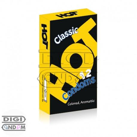 خرید-کاندوم-هات-12-تایی-کلاسیک-رنگی-HOT-Classic-Colored-از-دیجی-کاندوم