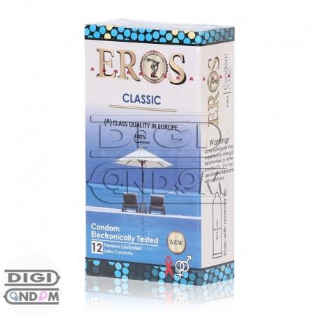 خرید کاندوم اروس 12 تایی تاخیری خنک کننده رنگی میوه ای EROS ICE TIME Colored Flavored از دیجی کاندوم
