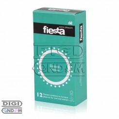 کاندوم فیستا 12 تایی خاردار داتد fiesta Dotted