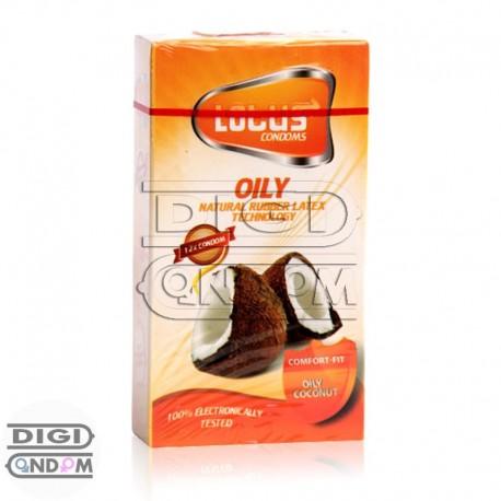 خرید کاندوم لوتوس 12 تایی چرب نارگیلی LOTUS OILY COCONUT از دیجی کاندوم