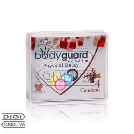 خرید کاندوم بادی گارد 4 تایی تاخیر فیزیکی body guard Physical Delay از دیجی کاندوم