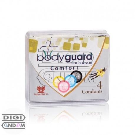 خرید کاندوم بادی گارد 4 تایی حلقوی bodyguard Comfort از دیجی کاندوم