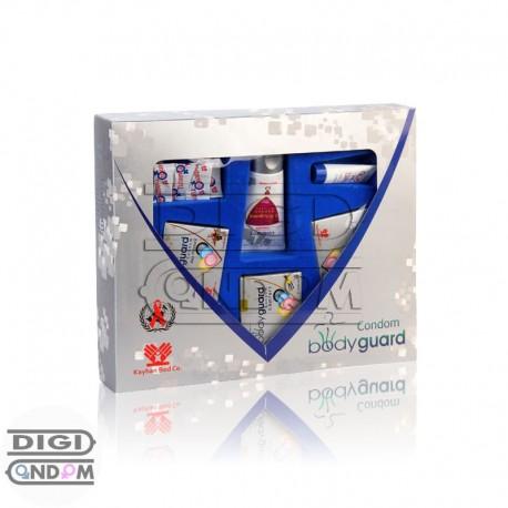 خرید پکیج کاندوم ها و ژل های آمیزشی بادی گارد bodyguard Condom Package از دیجی کاندوم