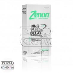 کاندوم زنون 12 تایی تاخیری فیزیکی رینگ استاپ Zenon RING STOP DELAY