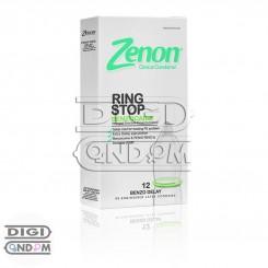 کاندوم زنون 12 تایی تاخیری گیاهی و فیزیکی رینگ استاپ Zenon RING STOP BENZOCAINE