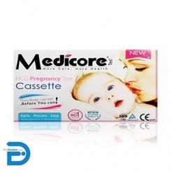 تست بارداری مدیکور کاستی Medicore Cassette HCG Pregnancy Test