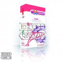 کاندوم ایکس دریم 12 تایی بزرگ کننده XDREAM Largo