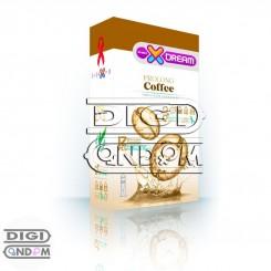 کاندوم ایکس دریم 12 تایی تاخیری قهوه XDREAM Prolong Coffee
