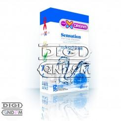 کاندوم ایکس دریم 12 تایی حساس XDREAM Senstion